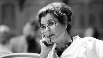 Lilian Uchtenhagen war eine Vorkämpferin für Frauenrechte.