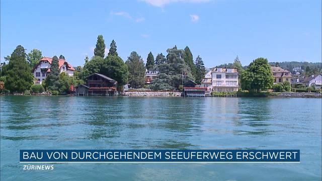 Kantonsrat schützt Grundstück-Besitzer am Zürichsee