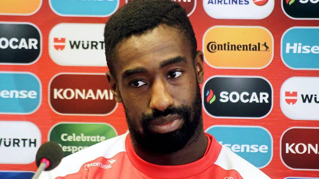 Steht dem Schweizer Nationalteam gegen Nordirland wie François Moubandje nicht zur Verfügung: der am Knie verletzte Johan Djourou