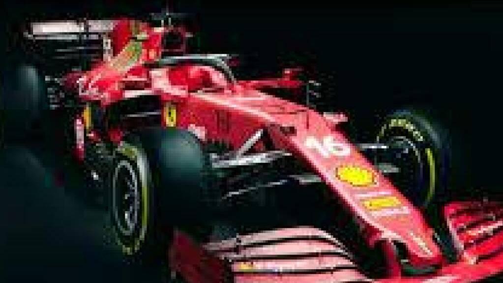 Der neue Bolide soll Ferrari in der Formel 1 wieder konkurrenzfähig machen. (Pressebild)