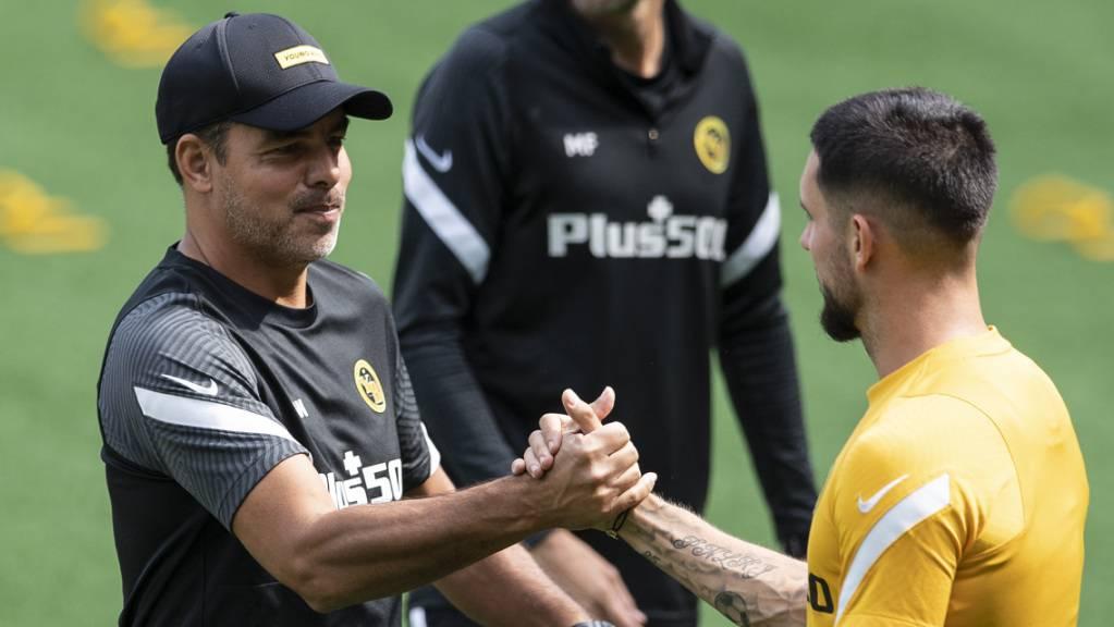 Chefcoach David Wagner will sich auf seine Young Boys verlassen können - so auf Jordan Lefort