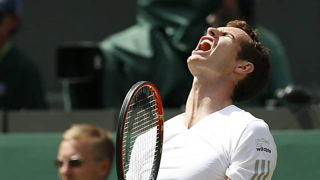 Grosse Frustration bei Andy Murray