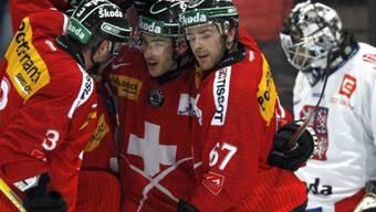 Eishockey-Freundschaftsspiel in Olten