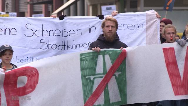"""Mit """"Biel bleibt laut"""" gegen Westast-Umfahrung"""