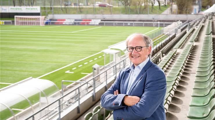 Präsident Heinz Gassmann hat für die Rückrunde aktuell noch keine Zuzüge geplant.