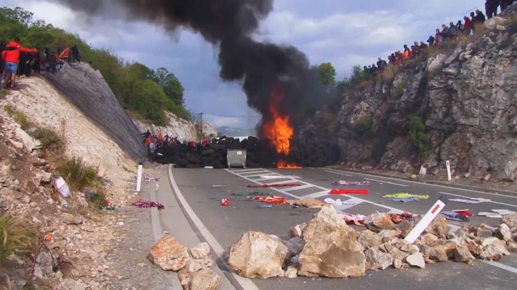 Proteste gegen neues Kirchenoberhaupt: Unruhen und Strassenkämpfe in Montenegro