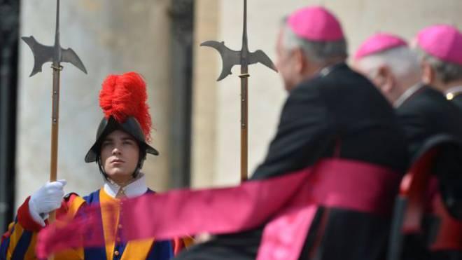 Schweizergardisten sollen bei homosexuellen Geistlichen beliebte Zielobjekte sein. Foto: AFP