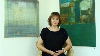Die Galerie des Centro Cultural Hispanoamericano. Aktuell sind dort die Bilder Peter Doblers zu sehen.