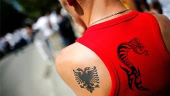 Aschenputtel Alessia tauscht im Roman «The Mister» ihren albanischen gegen einen aristokratischen Doppeladler ein.