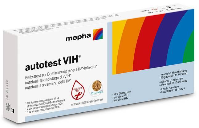 Der «autotest VIH» von ist rezeptfrei in Apotheken und Drogerien erhältlich.