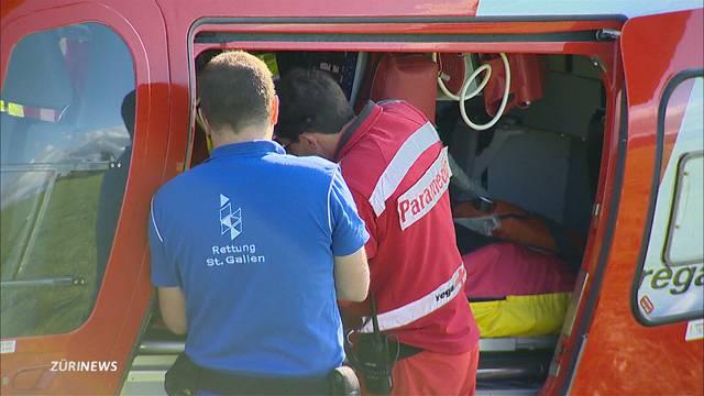 3 Teenager nach Töffli-Unfall teilweise in Lebensgefahr