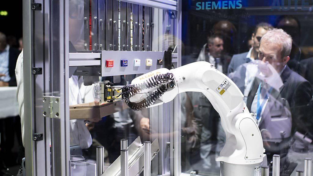 Die Schweizer Maschinen-, Elektro- und Metallindustrie hat im ersten Quartal einen Dämpfer hinnehmen müssen. (Archivbild)