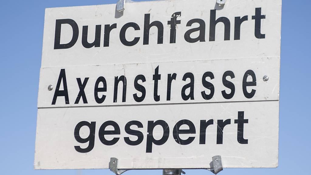 A4-Axenstrasse erneut gesperrt