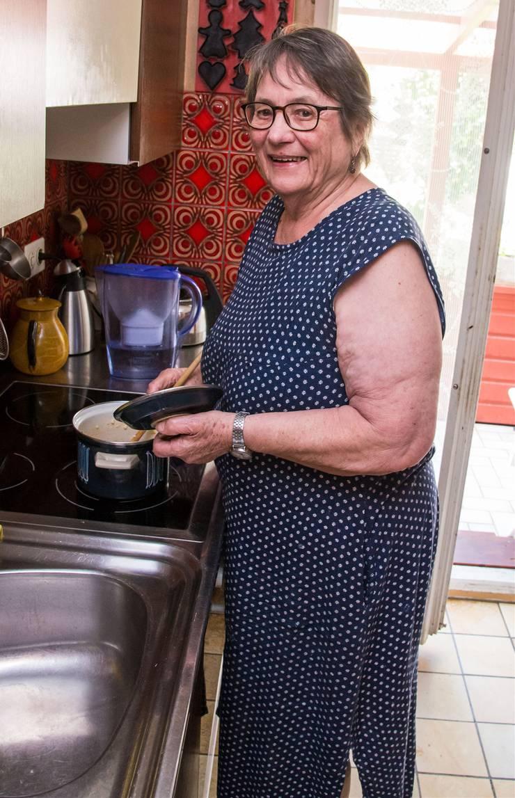 Agnes Hauser kocht noch heute Rezepte ihrer ersten Arbeitgeberin.