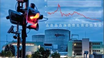 Das Kernkraftwerk Beznau: Auf ihren Grosskraftwerken musste die Axpo dieses Jahr erneut Wertberichtigungen vornehmen. Das zeigt sich in der Bilanz.