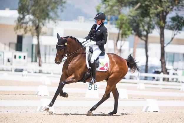Geiger nahm 2016 in Rio de Janeiro an den Paralympischen Spielen teil.