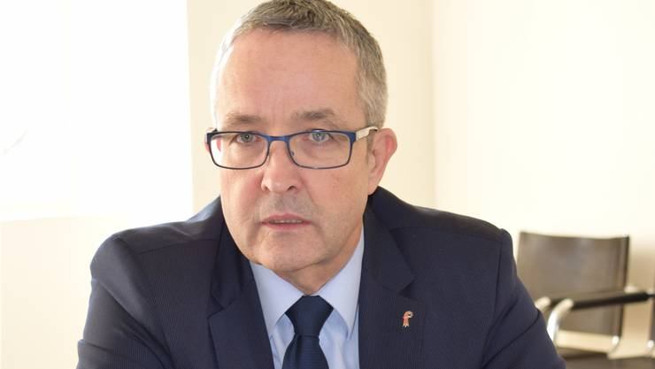 Vordergründig erleichtert: SVP-Regierungsrat Thomas Weber.
