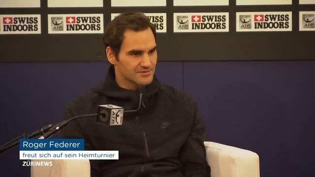 Federer ist bereit für Basel