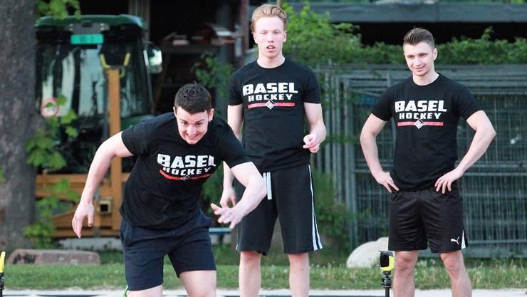 Nach rund zwei Monaten Pause begann am Montagabend für die Spieler und Trainer des EHC Basel die Vorbereitung für die neue MySports League.