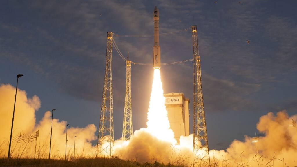 Erneut Vega-Rakete ins All gestartet