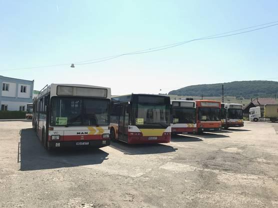 Seit rund 14 Jahren fahren in der Rumänischen Stadt Schässburg RVBW-Busse rum. Dies wurde dank einem Patenschaftsprojekt, das unter dem ehemaligen Stadtammann Josef Bürge initiiert wurde, möglich.