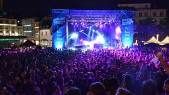 30'000 Zuschauer besuchten im vergangenen Jahr das Imagine-Festival rund um den Basler Barfüsserplatz.