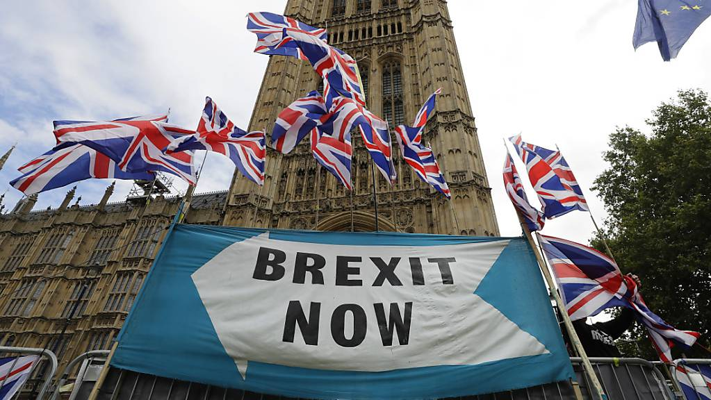Im Brexit-Streit hat Grossbritannien neue Vorschläge für den Umgang mit der offenen Grenze zwischen dem britischen Landesteil Nordirland und dem EU-Mitglied Irland unterbreitet. (Archivbild)