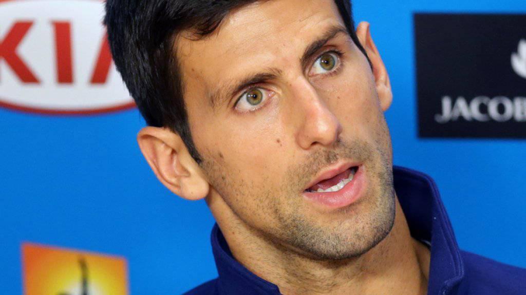Der Weltranglisten-Erste Novak Djokovic (28) wehrt sich vehement gegen die Manipulationsvorwürfe aus italienischen Medien