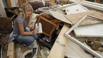 Ein Bild der Zerstörung nach dem Tornado in den USA
