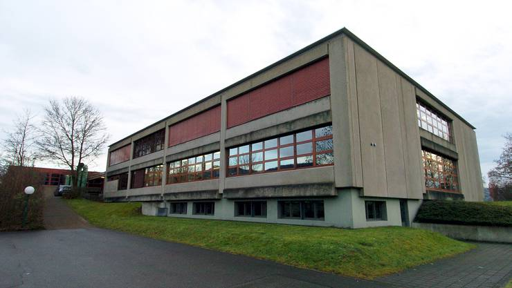 Die Bezirksschule Klingnau - hier werden zurzeit fünf Bezklassen geführt.