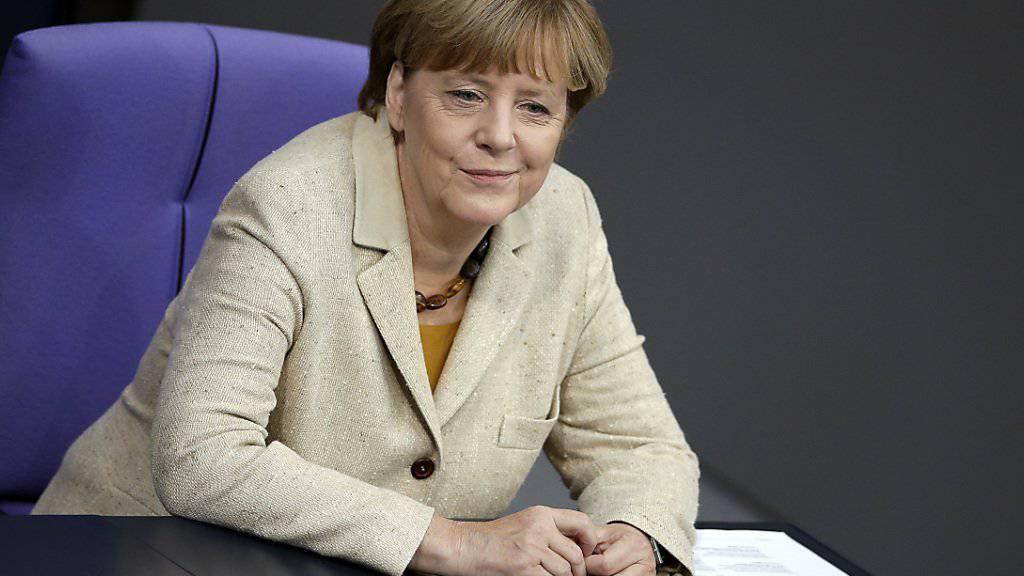 Bundeskanzelrin Angela Merkel will die EU stärken.