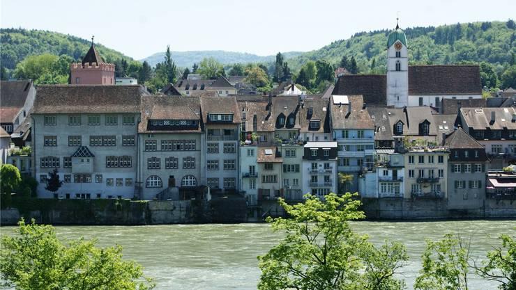 Die Altstadt von Rheinfelden.