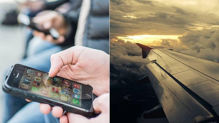 Per Handy einen Flug zu buchen, kann in die Hose gehen.