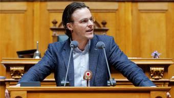 Bastien Girod, grüner Nationalrat, wirbt für die «Grüne Wirtschaft».
