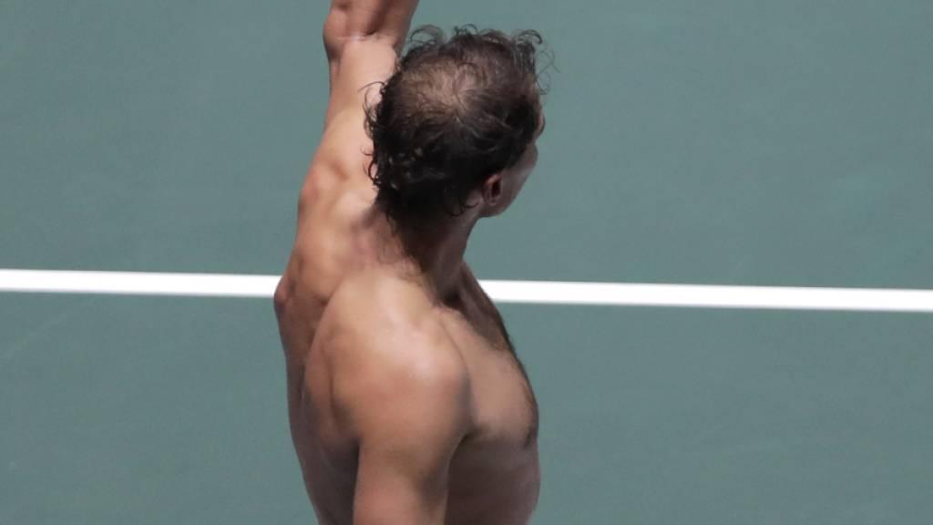 Djokovic souverän, Murray nervenstark, Nadal unzufrieden