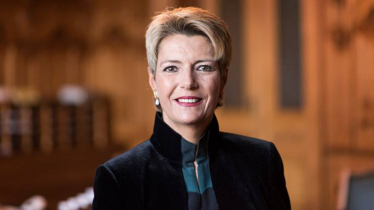 Karin Keller-Sutter - St. Gallen - ab 2019
