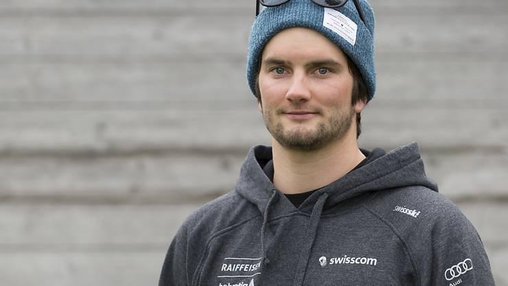 Der Schweizer Ski-Freestyler Mischa Gasser verabschiedet sich vom Spitzensport