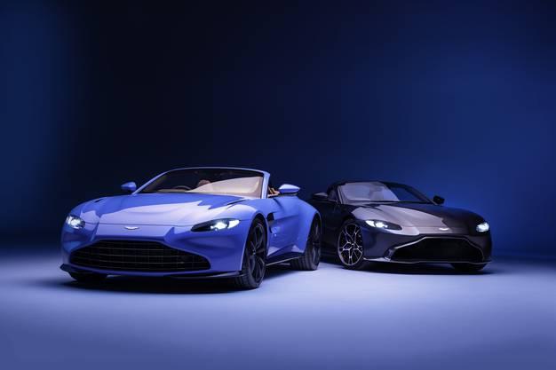 """Kleiner, aber feiner Unterschied: Links der Roadster mit neuem """"Vane""""-Grill, rechts der bekannte """"Hunter""""-Grill."""