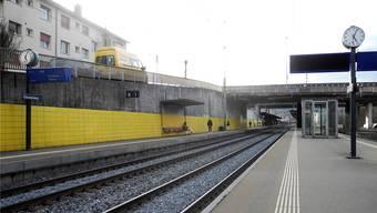 Am Bahnhof Glanzenberg besammelte sich das junge kriminelle Trio.