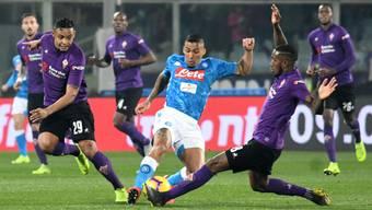 Fiorentinas Gerson stellt Allan und den Neapolitanern ein Bein