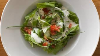 Salat war mit Regenwürmern gespickt (Symbolbild)