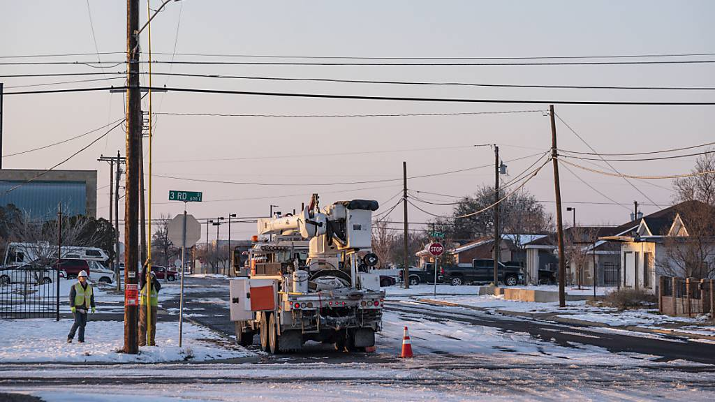 Winterwetter beschert Texanern «astronomische» Stromrechnungen
