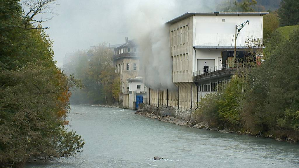 Glarus: Brand in einem Textilbetrieb - Ursache ist noch unklar