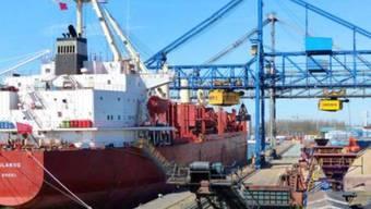 """Das Frachtschiff """"Glarus"""". (Bildquelle: Massoel Shipping)"""