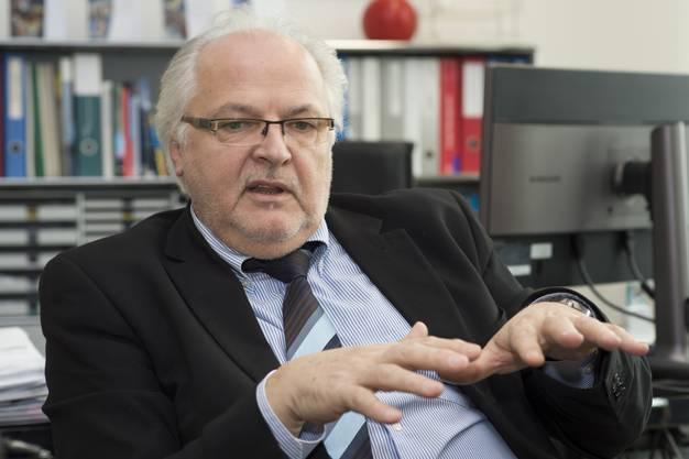 Toni Scartazzini, Direktor der Rehaklinik Bellikon.