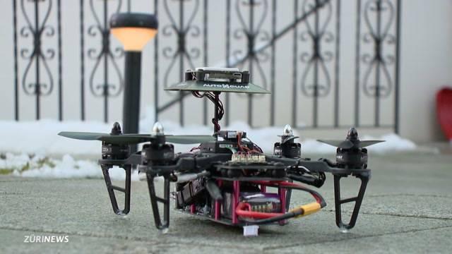 Drohnen für mehr Sicherheit im Garten
