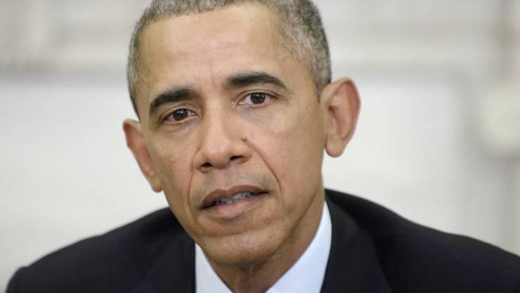 US-Präsident Barack Obama legte sein Veto ein gegen ein Gesetz, das seine Gesundheitsreform angriff. (Archiv)