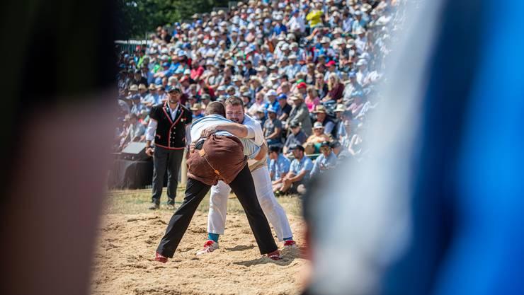 Der 68. Weissenstein-Schwinget als Volksfest