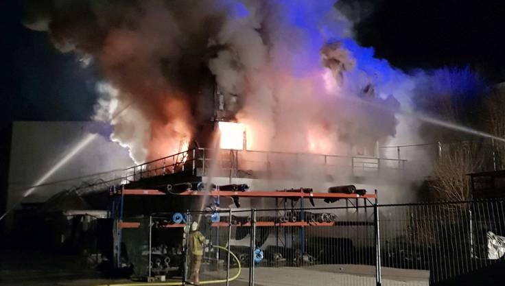 In Klingnau ist eine Fischzucht niedergebrannt.
