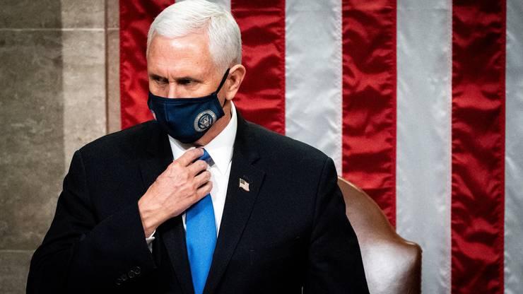 Rückt er die Sache jetzt gerade? Vizepräsident Mike Pence.